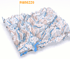 3d view of Pianezzo