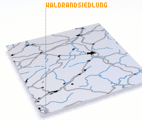 3d view of Waldrandsiedlung
