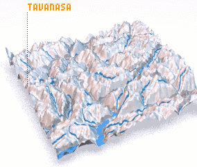 3d view of Tavanasa