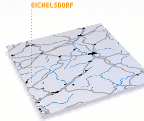 3d view of Eichelsdorf