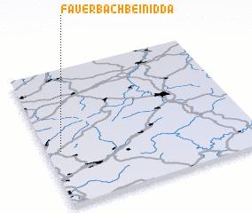 3d view of Fauerbach bei Nidda