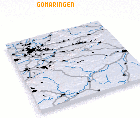 3d view of Gomaringen
