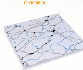3d view of Eschenrod