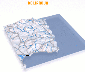 3d view of Dolianova