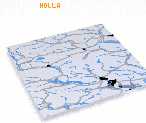 3d view of Holla