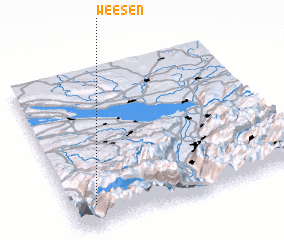 3d view of Weesen
