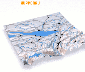 3d view of Wuppenau
