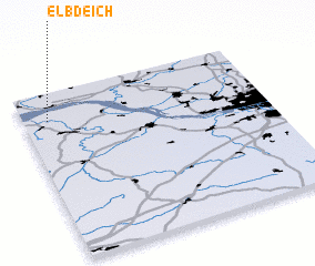 3d view of Elbdeich