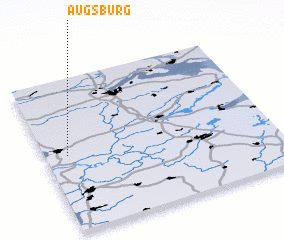 3d view of Augsburg