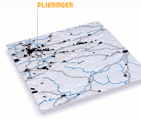 3d view of Plieningen