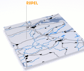 3d view of Rupel
