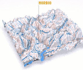 3d view of Morbio