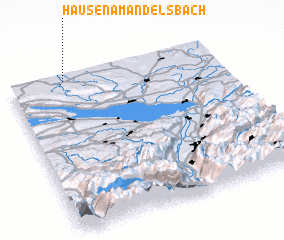 3d view of Hausen am Andelsbach