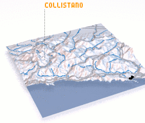 3d view of Collistano
