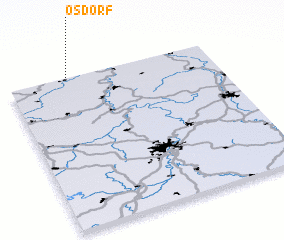 3d view of Ösdorf