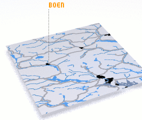 3d view of Bøen