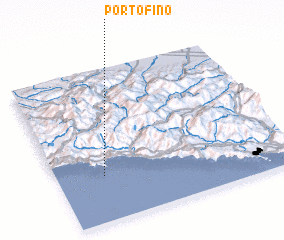 3d view of Portofino