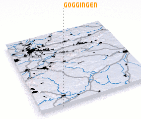 3d view of Göggingen
