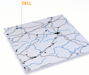Map Of Zell Germany.Zell Germany Map Nona Net