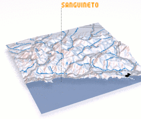 3d view of Sanguineto