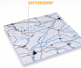 3d view of Gottersdorf