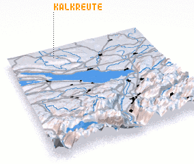 3d view of Kalkreute