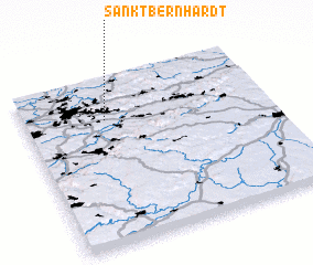 3d view of Sankt Bernhardt
