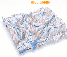 3d view of Gallivaggio