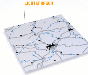 3d view of Lichtenhagen
