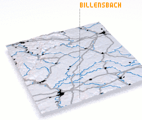 3d view of Billensbach