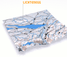 3d view of Lichtenegg