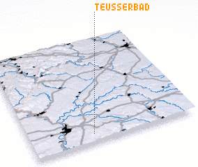 3d view of Teußerbad