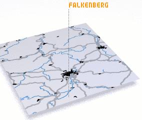 3d view of Falkenberg