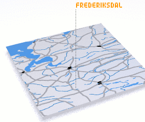 3d view of Frederiksdal