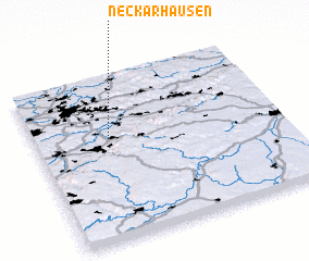 3d view of Neckarhausen