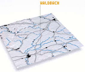 3d view of Waldbach