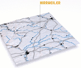 3d view of Hirrweiler