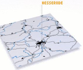 3d view of Hesserode