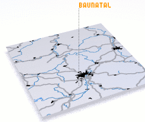 3d view of Baunatal