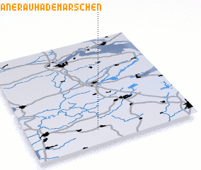3d view of Hanerau-Hademarschen