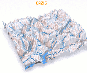 3d view of Cazis