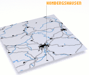 3d view of Hombergshausen
