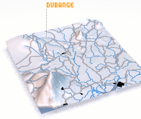 3d view of Dubange