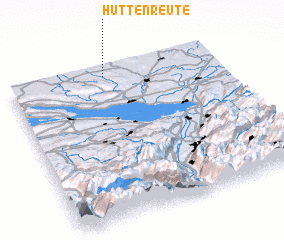 3d view of Hüttenreute