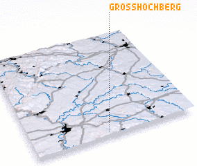 3d view of Großhöchberg