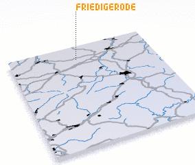 3d view of Friedigerode
