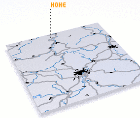 3d view of Hohe