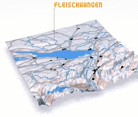 3d view of Fleischwangen