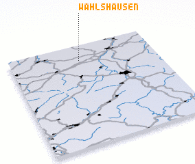 3d view of Wahlshausen