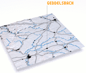 3d view of Geddelsbach